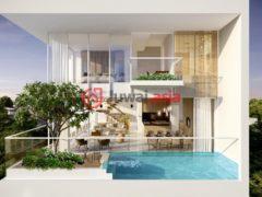 居外网在售越南3卧2卫的新建房产总占地185平方米