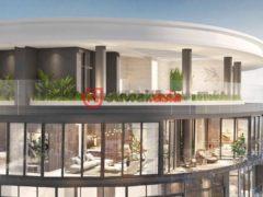 居外网在售越南4卧5卫的新建房产总占地340平方米