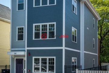 美国波士顿2卧2卫最近整修过的房产