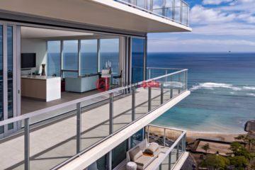 居外网在售美国檀香山3卧3卫的房产总占地243平方米USD 6,900,000