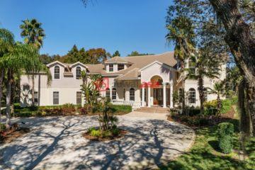 美国房产房价_佛罗里达州房产房价_塔彭斯普林斯房产房价_居外网在售美国塔彭斯普林斯6卧6卫特别设计建筑的房产总占地5868平方米USD 1,095,000