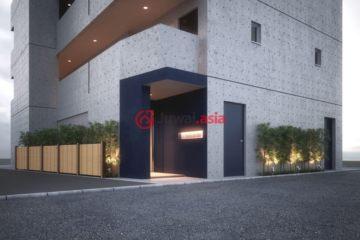 居外网在售日本1卧1卫新房的房产总占地25平方米JPY 31,120,000