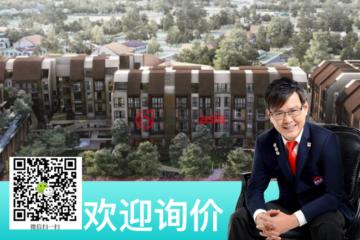 居外网在售新加坡1卧1卫新开发的房产总占地9402平方米SGD 1,350,000