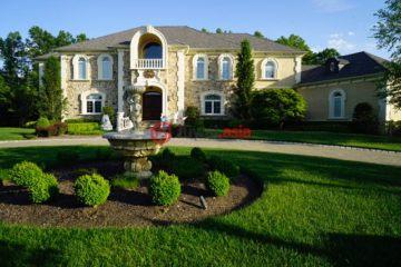 居外网在售美国4卧6卫特别设计建筑的房产总占地4182平方米USD 1,850,000