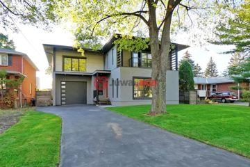 居外网在售加拿大多伦多4卧5卫的房产总占地18平方米CAD 1,899,900
