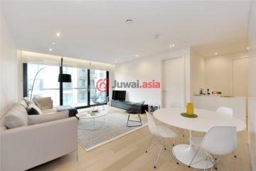 居外网在售英国伦敦2卧2卫的房产总占地91平方米GBP 1,350,000