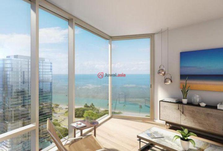 美国夏威夷火奴鲁鲁的新建房产,1001 Queen Street,编号24533938