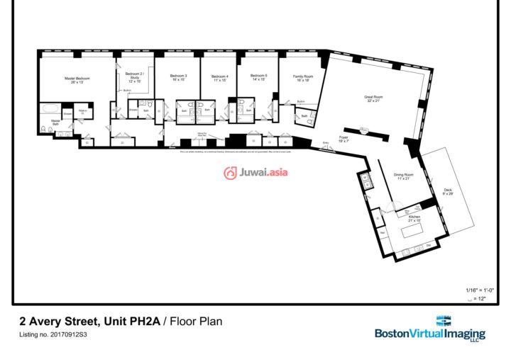 美国马萨诸塞州波士顿的房产,2 Avery Street,编号35371175
