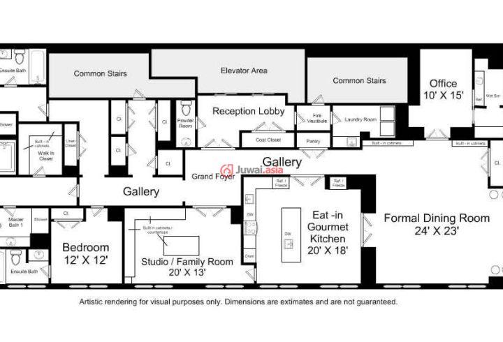 五间平房带院设计图展示