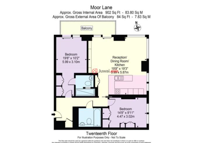 英国英格兰伦敦的房产,5, Moor Lane, Moore Lane, City of London,编号35172477