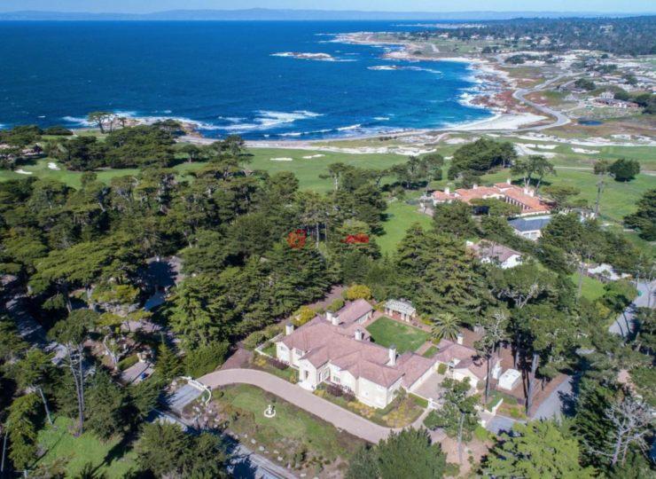 美国加州圆石滩6卧7卫的房产