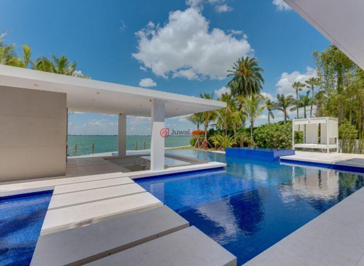 美国佛罗里达州迈阿密海滩的房产,5004 N Bay Rd,编号36129859
