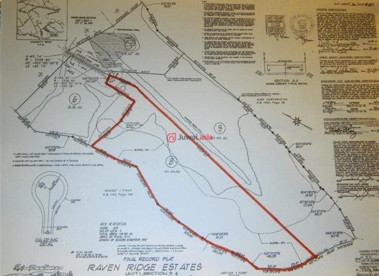 肯塔基州woodfort地图
